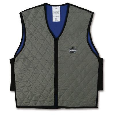 Ergodyne Chill-its Evaporative Cooling Vest Gray
