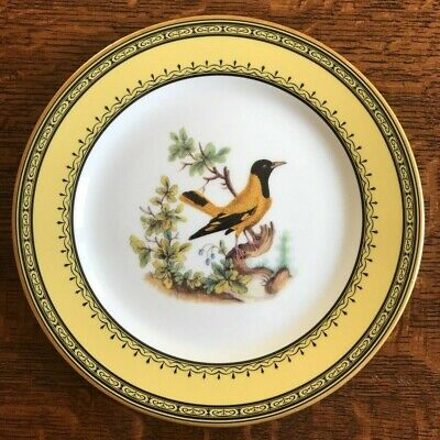 Ancienne Manufacture Royale De Limoges Jardin Du Roi 6 Plate Salad/Dessert Set
