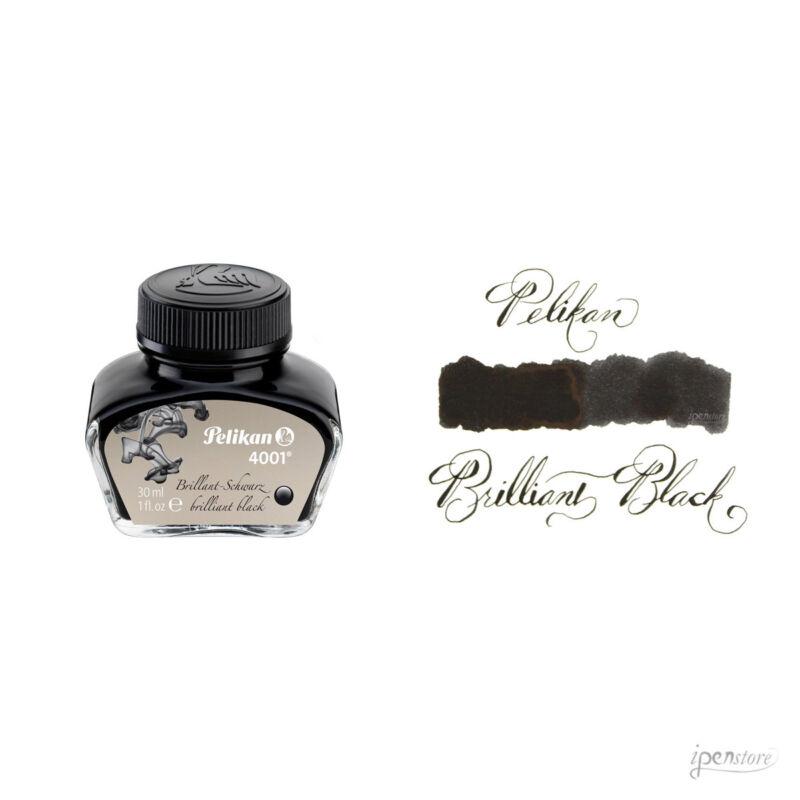 Pelikan 30 ml Bottle 4001 Fountain Pen Ink, Brilliant Black