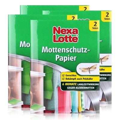 Nexa Lotte Mottenschutz 2 stk. - Schützt 6 Monate gegen Kleidermotten (4er Pack)