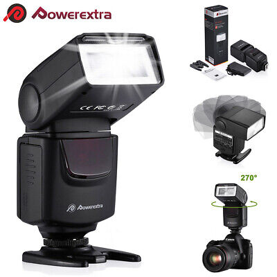 DSLR Camera Flash Speedlite Light Wireless For Nikon Canon Sony Pentax Fujifilm