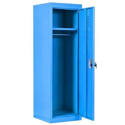 Metal Storage Cabinet Kids Locker Closet With Key Bathroom Garage Bedroom Wall