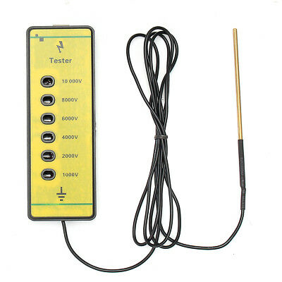 Farm Electrical Fence Voltage Tester Fencing Poly Wire Tape Rope Energiser Tool