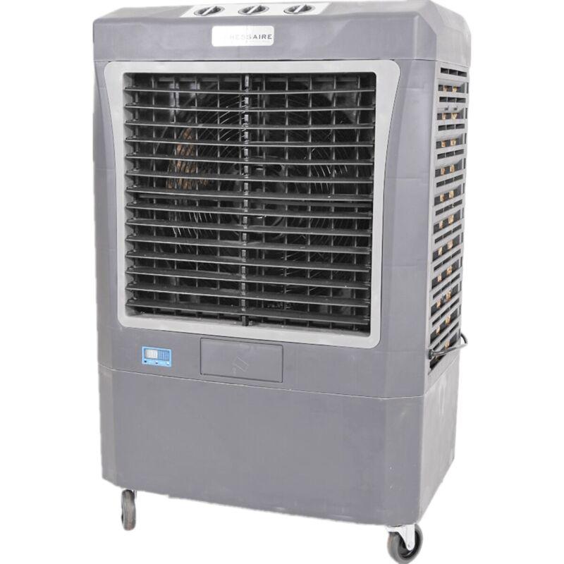 Hessaire MC37V Compact Portable 3,100 CFM Indoor/Outdoor Gray Evaporative Cooler