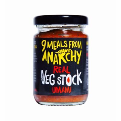 9 Meals From Anarchy Real Vegetable Stock - Umami - 105g -...