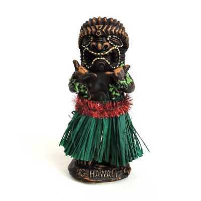 Hawaii Wackelfigur Hula Girl Auto Wackeldackel Dashboard Doll Tänzerin, 10,5cm