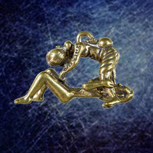 CHU CHOK Old Man Oral Sex Thai Amulet Pendant Magic Charm Talisman Lucky Love FS
