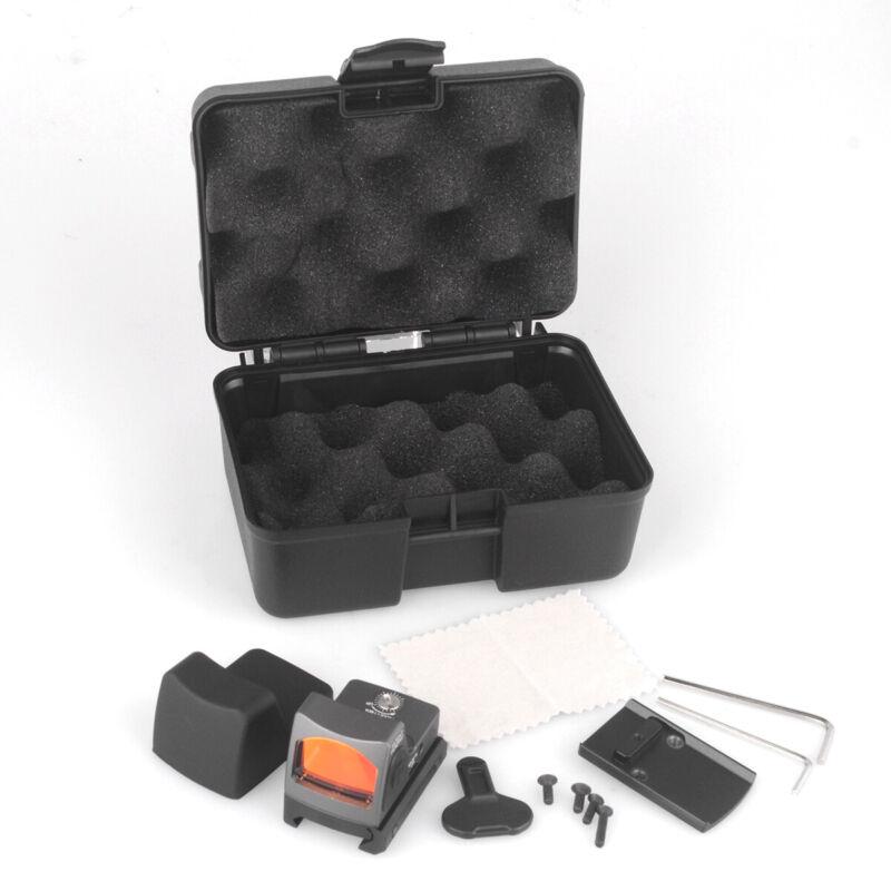 LED RMR 3.25 MOA Dot Red Dot Adjustable Reflective Sight Glock Hunting 45mm