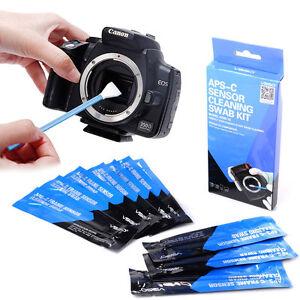 Professional APS-C 10 Sensor Cleaning Swab Kit For Digital SLR Camera DC580