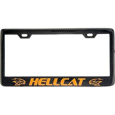 100% Real Carbon Fiber License Plate Frame Scat Pack 392 Rt Dodge ...