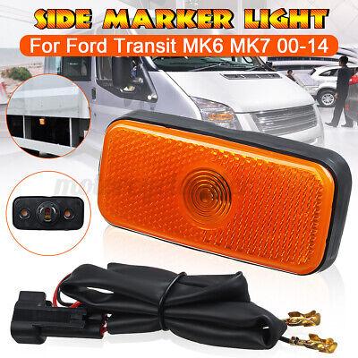 SIDE MARKER LAMP LIGHT & WIRING LOOM FOR FORD TRANSIT MK6 MK7 2000-2014 1671689