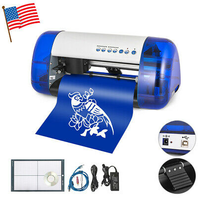 New A4 Vinyl Cutter Cutting Plotter Carving Machine Portable Artcut Software Diy
