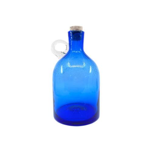 Blenko - Large Moonshine Cobalt Jug