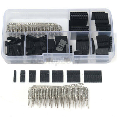 310pcs Male Female Dupont Wire Jumper W Header Connector Housing Kit Us