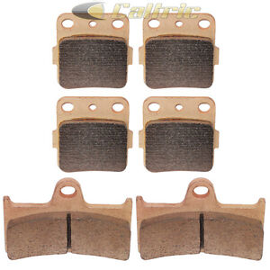 Brake-Pads-FITS-YAMAHA-Grizzly-660-YFM660-Front-Rear-Brakes-2002-2008