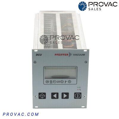 Pfeiffer Dcu-200 Turbo Pump Controller Rebuilt By Provac Sales Inc.