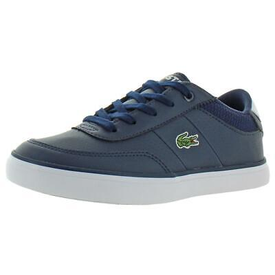 Lacoste Boys Court-Master 119 4 Navy Casual Shoes 2 Medium (D) Little Kid 3811