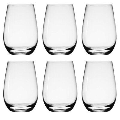 6pk Stolzle 15.75oz German Crystal Wine Glasses Stemless Wine Glasses White Wine Crystal White Wine Glasses