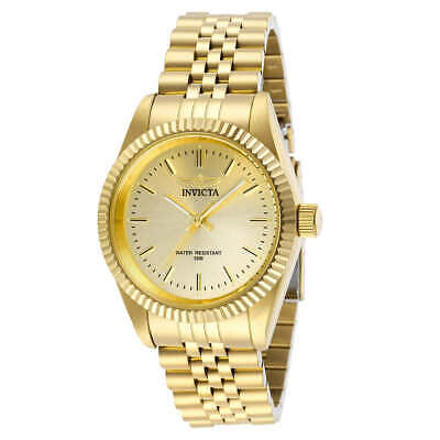 Invicta Specialty 32136 Unisex 36mm Gold Tone S/Steel Watch