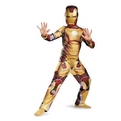LICENSED IRON MAN 3  MUSCLE CHILD HALLOWEEN COSTUME  MEDIUM 8 / Marvel-Disguise](Iron Man 3 Kids Costume)