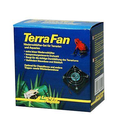 Lucky Reptile - Terra Fan Lüfterset-Niedervolt-Lüfter Terrariumlüfter Terrarium