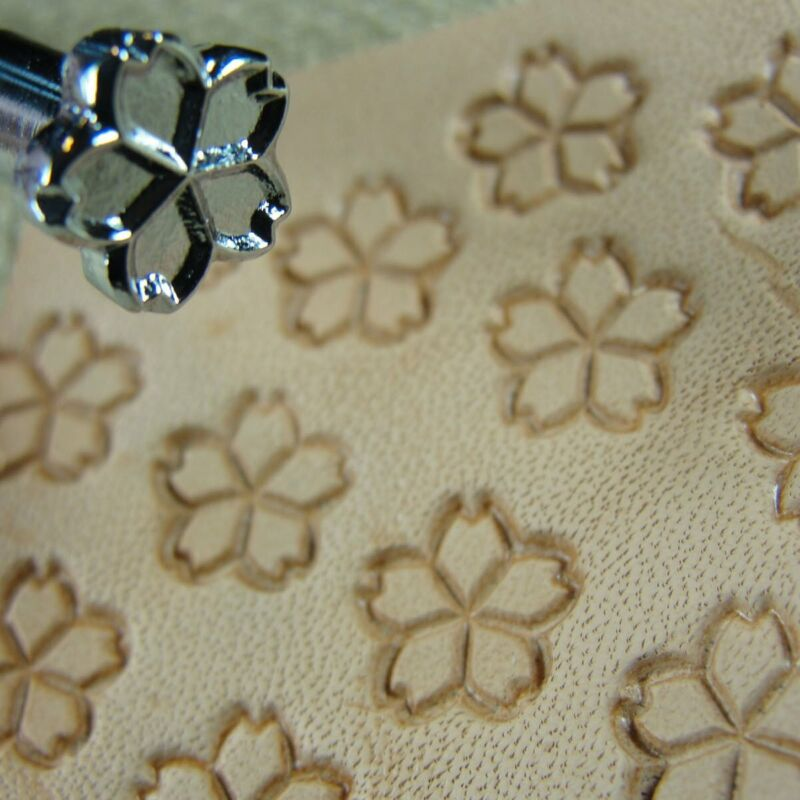 Steel Craft Japan - #O77 Flower Stamp (Leather Stamping Tool)