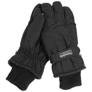 Thermohandschuhe Thinsulate S-3XL, Fingerhandschuhe Winter Handschuhe gefüttert