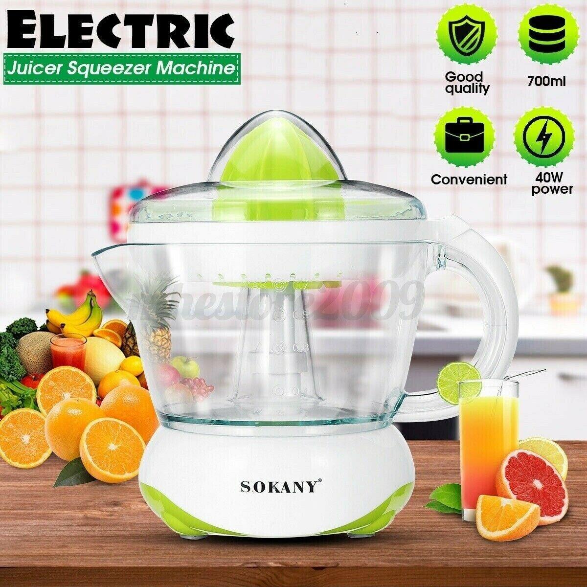 Electric Juicer Squeezer Machine Orange Lemon Citrus Fruit P