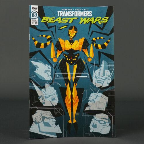 TRANSFORMERS BEAST WARS #8 Cvr B IDW Comics 2021 JUL210497 8B (CA) Gee