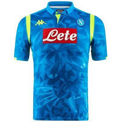 43,99 € per Kappa T-shirt Sportiva Uomo Kombat Gara 2019 Euro Napoli Calcio Sport Cna su eBay.it