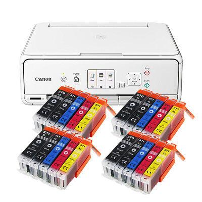 Set Canon Pixma TS 5050/TS 5051 DRUCKER SCANNER KOPIERER WLAN + 20x XL TINTE