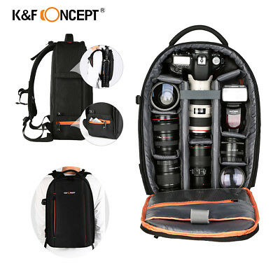 DSLR SLR Camera Backpack Bag Action for Canon Nikon Sony Waterproof K&F Concept