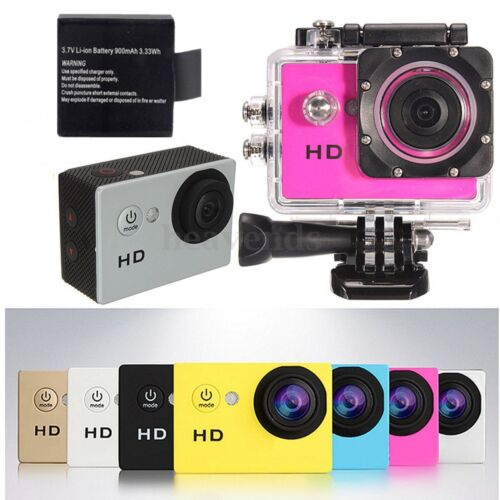 SJ4000 HD Waterproof Sports Action Camera Helmet Bike Car Camcorder CAM Mount