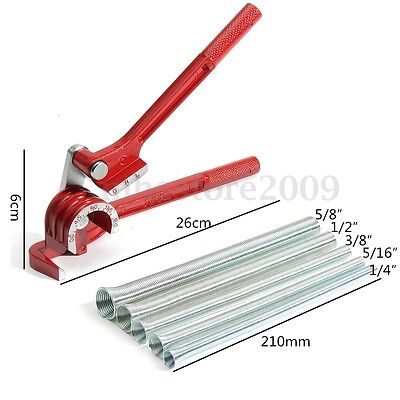3in1 180 Tube Bender With 5pcs Spring Bending Pipe For Plumbing Copper Aluminum