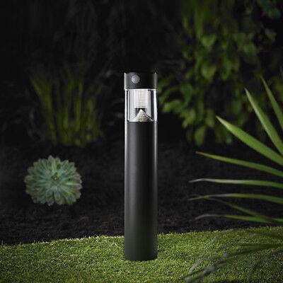 LED Solarlampe Stand Leuchte Gartenlampe  Bewegungsmelder Anthrazit 50cm SO31-1 ()