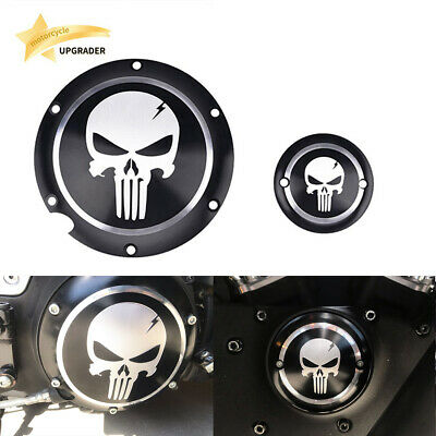 Skull Accessories Engine Derby Timer Cover For Harley Sportster XL883 1200 72 48 Harley Davidson Skull Accessories