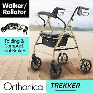 Orthonica Folding Walker Rollator Mobility Walking Aid Frame Kingsford Eastern Suburbs Preview