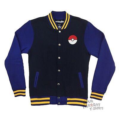 Pokemon Trainer Jacket Pikachu Varsity Track Jacket (Pokemon Trainer Jacket)