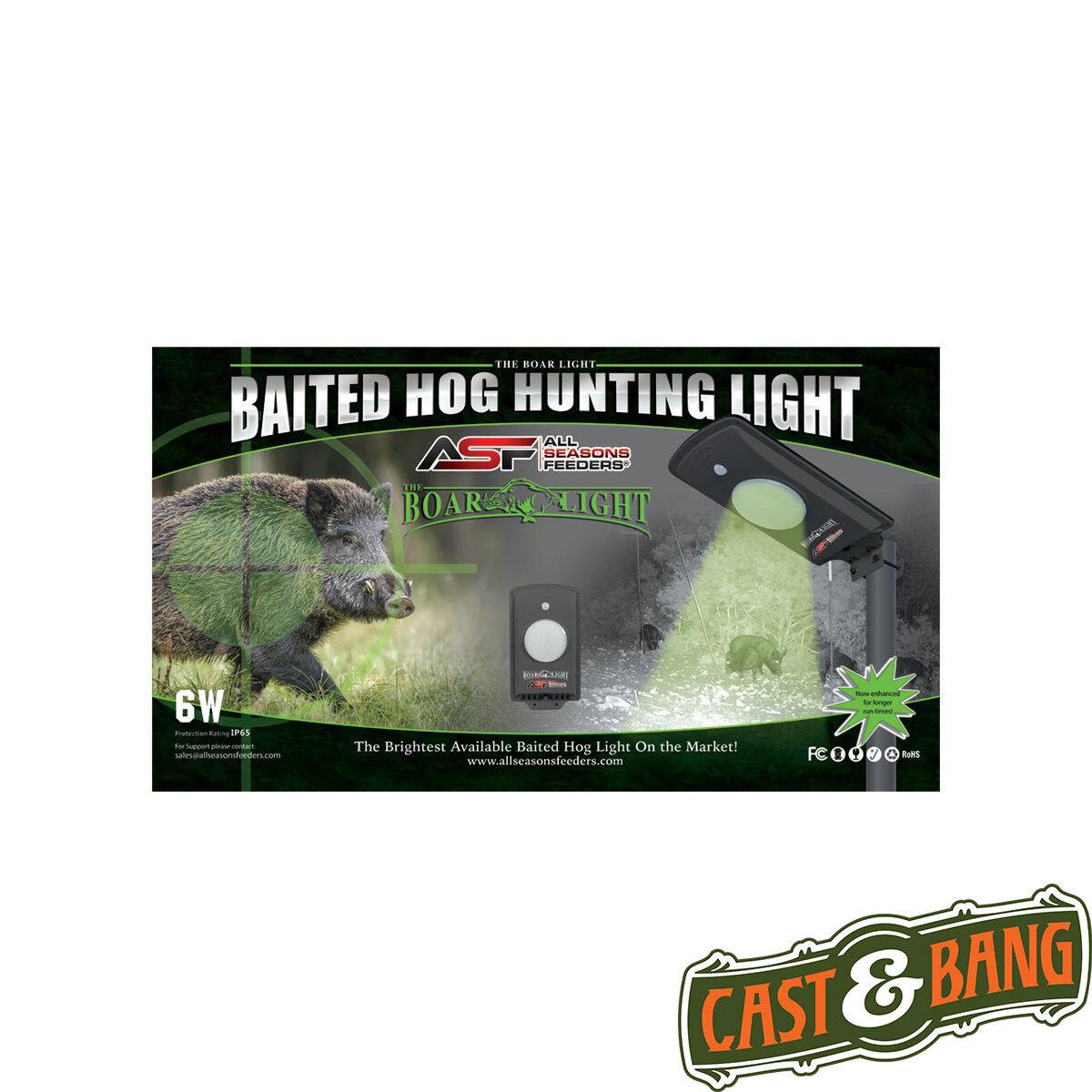 All Seasons Feeders Baited Boar Hog Hunting Light Green LED