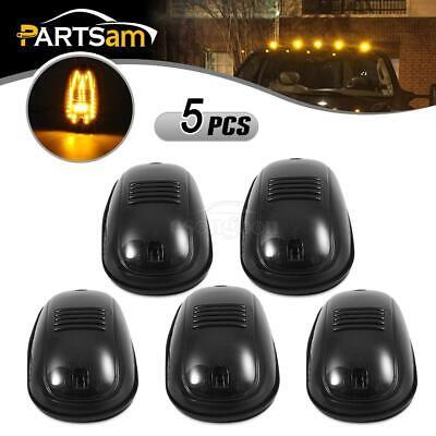 5pcs OEM Smoke Cab Roof Marker Amber 45 LED Lights for Dodge Ram 2500 3500 03-18