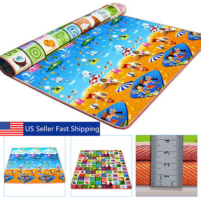 Baby Kids Play Mat Foam Floor Child Activity Soft Toy Gym Crawl Creeping -