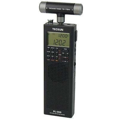 TECSUN PL-360 Mini Portable DSP ETM ATS FM-Stereo MW SW World Band Stereo Radio