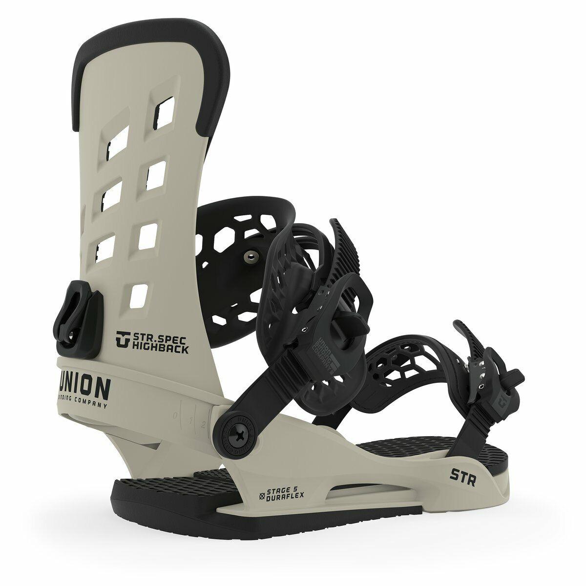 Union STR 2020 Mens Snowboard Bindings Bone