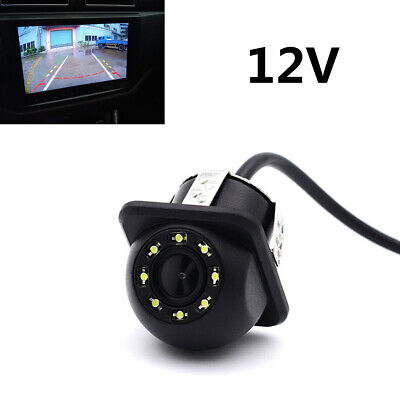 12V Universal HD Dynamic Trajectory Car Rearview Camera Back Up Parking Camera