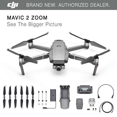 DJI Mavic 2 Zoom - 2x Optical Zoom - FHD Video - Brand New!