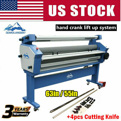 63in 55in Full-auto Large Format Cold Laminator With Heat Assisted Trimmer