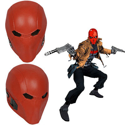 Injustice 2 Red Hood Helmet Cosplay Costume Prop Mask Adult Game Halloween Party](Halloween Helmets)