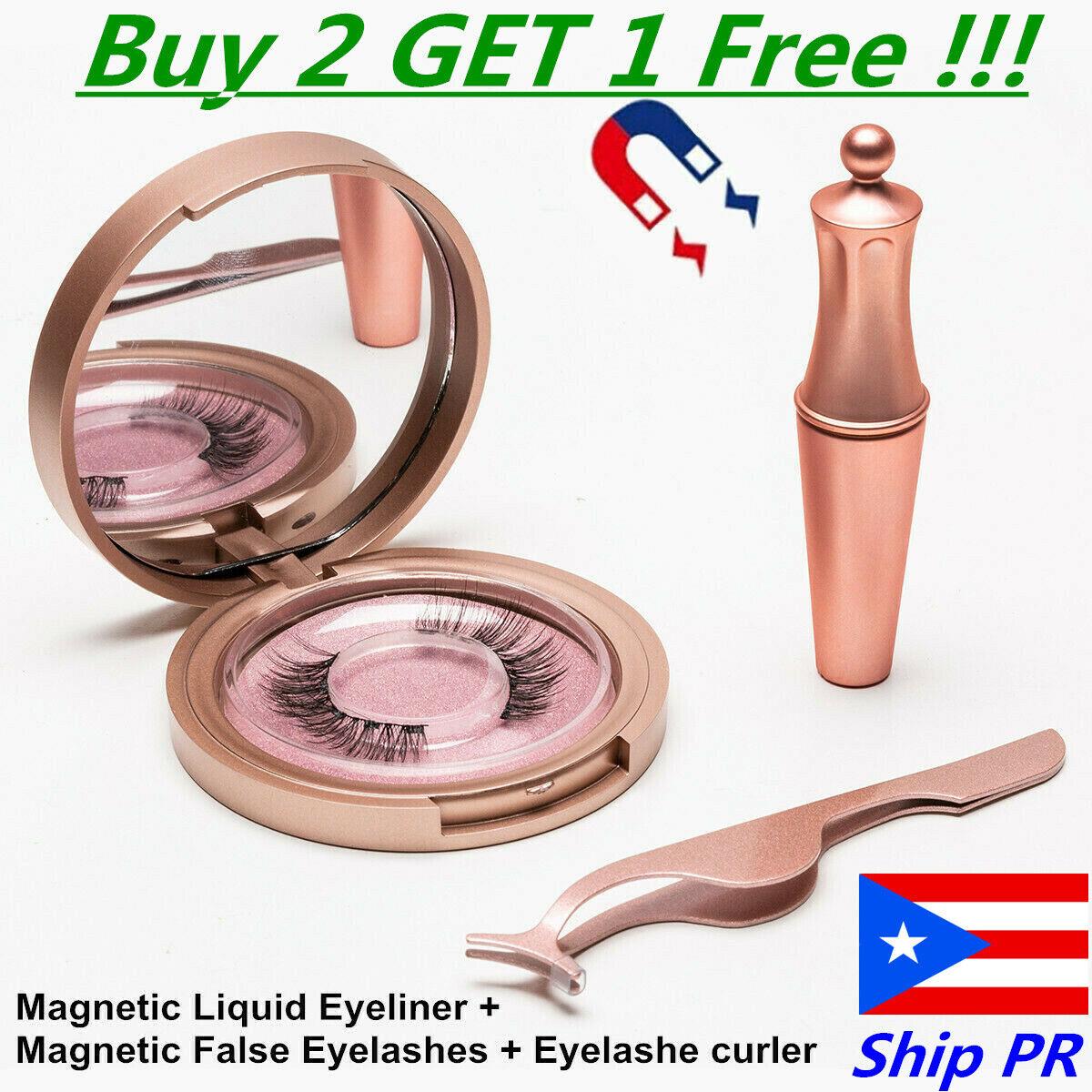 💕Magnetic Eyelashes Natural Eye liner Lashes Extension Li