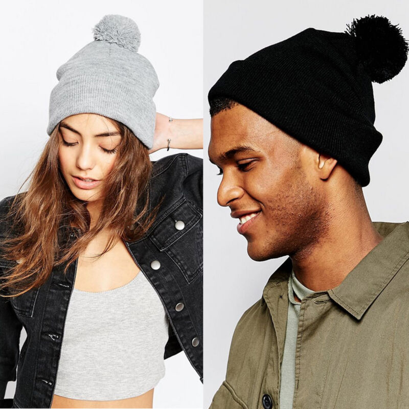 bc695c1549afbb Details about Unisex Men Women Novelty Winter Warm Braided Crochet Knitted  Hat Beanie Ball Cap