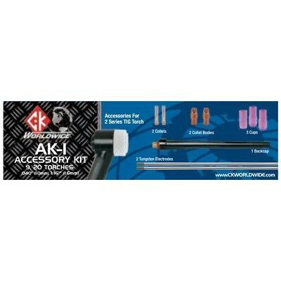 Ck Worldwide 2 Series Tig Torch Accessory Kit Ak-1